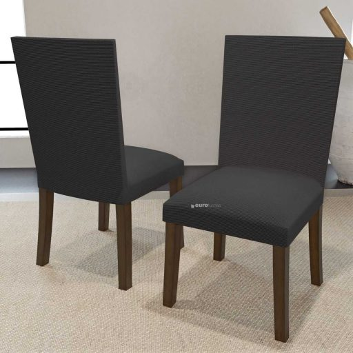 Funda de silla con respaldo Inaya Gris